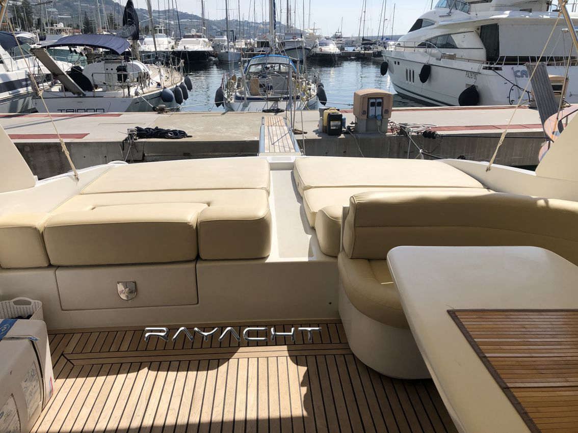 Rizzardi R 63 Top Line Rayacht charter